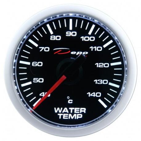 Budíky DEPO Night glow séria 52mm Budík DEPO racing Teplota vody - Night glow séria | race-shop.sk