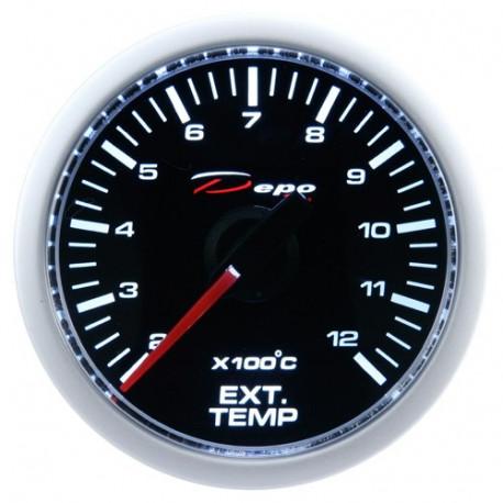 Budíky DEPO Night glow séria 52mm Budík DEPO racing Teplota výfukových plynov - Night glow séria | race-shop.sk