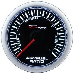 Budík DEPO racing Pomer palivo/vzduch - Night glow séria
