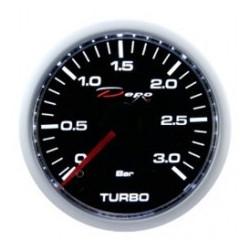 Budík DEPO racing Tlak turba diesel - Night glow séria