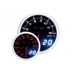 Budík DEPO racing Teplota výfukových plynov - Dual view séria