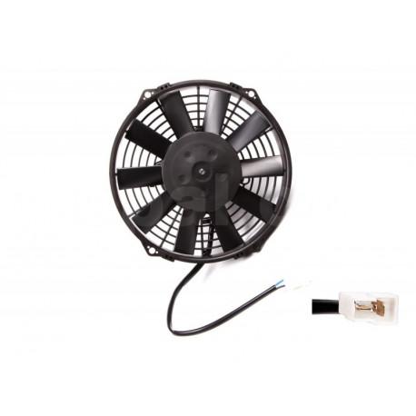 Ventilátory 12V Univerzálny elektrický ventilátor SPAL 225m - sací, 12V | race-shop.sk