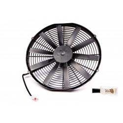 Univerzálny elektrický ventilátor SPAL 385mm - tlačný, 12V