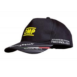 Šiltovka OMP racing spirit čierna