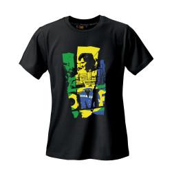 OMP aryton senna edition rövid ujjú (T-Shirt) fekete