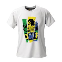 OMP aryton senna edition rövid ujjú (T-Shirt) fehér