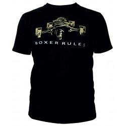 Tričko RACES Boxer rules čierne
