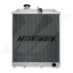 Hlinikový závodný chladič MISHIMOTO - 92-00 Honda Civic / 93-97 Del Sol 3-rodový