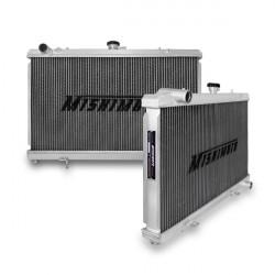 Hlinikový závodný chladič MISHIMOTO - 89-95 Nissan Silvia 180SX / 200SX S13 SR20DET 3-radový