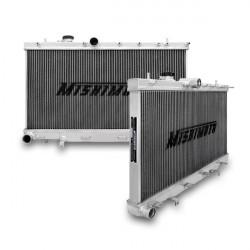 Hlinikový závodný chladič MISHIMOTO - 01-07 Subaru WRX a STI