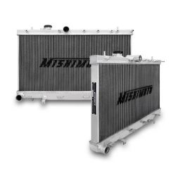 Hlinikový závodný chladič MISHIMOTO - 01-07 Subaru WRX a STI 3-radový