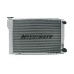 "Hlinikový závodný univerzálny chladič MISHIMOTO - Mishimotorsports 26""x17""x3.5"" dvoj-prechodový Race chladič"