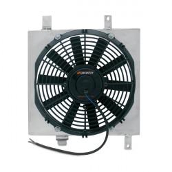Sahara ventilátora pre závodný chladič MISHIMOTO - Sada - 90-93 Honda Integra