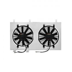Sahara ventilátora pre závodný chladič MISHIMOTO - Sada - Mitsubishi Evolution 4,5,6