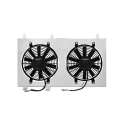 Sahara ventilátora pre závodný chladič MISHIMOTO - Sada - 03-06 Nissan 350Z