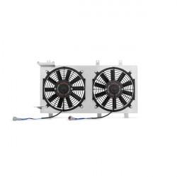 Sahara ventilátora pre závodný chladič MISHIMOTO - Sada - 01-07 Subaru WRX a STI