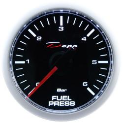 Budík DEPO racing Tlak paliva - Night glow séria