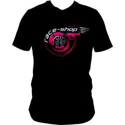 Tričko RACES Turbo čierne