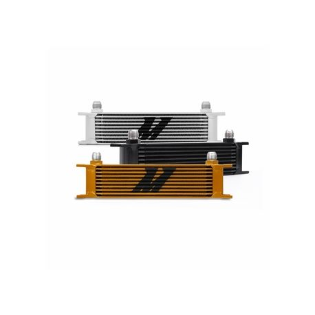 Univerzálne olejové chladiče 10 radový olejový chladič Mishimoto 330x100x50mm | race-shop.sk