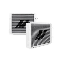25 radový olejový chladič Mishimoto (Dual pass) 380x300x45mm