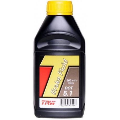 Brzdové kvapaliny Brzdová kvapalina TRW DOT 5.1 - 0,25l   race-shop.sk