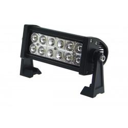 Prídavné LED svetlo - rampa 36w 252x114mm