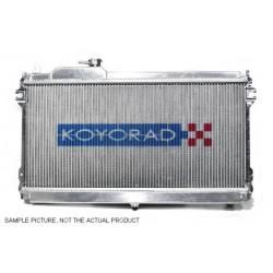 Hliníkový závodný chladič Koyorad pre Mazda RX-7, 89.1~91.10