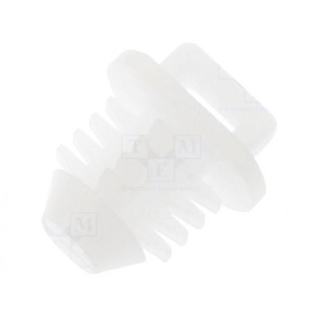 Bužírky a držiaky na káble Zatláčacia príchytka pre sťahovacie pásky 10ks | race-shop.sk