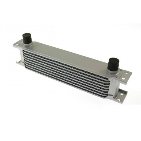 Univerzálne olejové chladiče 9 radový olejový chladič 330x70x50mm | race-shop.sk