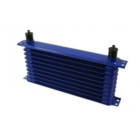Univerzálne olejové chladiče 10 radový olejový chladič Trust style AN10, 330x70x50mm | race-shop.sk