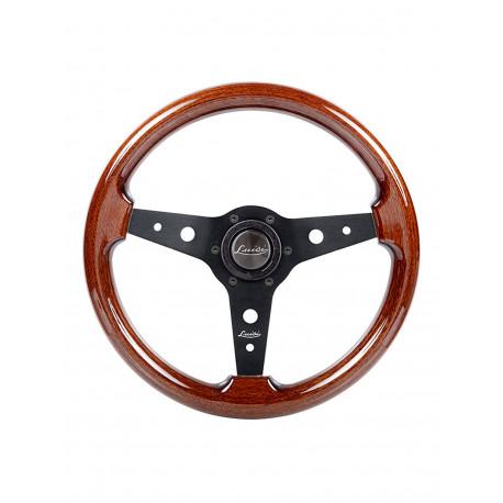 Volanty Športový volant Luisi Montreal, 340mm, mahagón, bez odsadenia | race-shop.sk