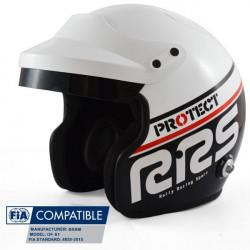 Prilba RRS Protect JET s FIA 8859-2015, Hans, čierna