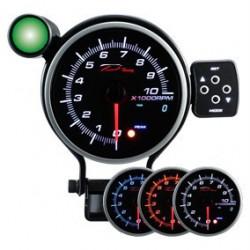 Programovateľný prídavný otáčkomer dual view DEPO 95mm - benzín