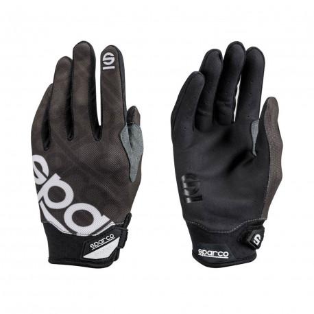 Ochranné rukavice - mechanik Rukavice Sparco MECA-3 čierne | race-shop.sk