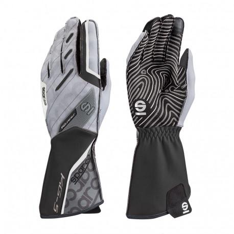 Rukavice Rukavice Sparco Motion KG-5 (vonkajšie šitie) čierno/biela | race-shop.sk