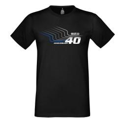 Sparco rövid ujjú (T-Shirt) fekete