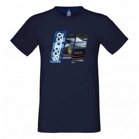 Tričká Tričko Sparco (T-Shirt) modré   race-shop.sk