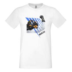 Sparco rövid ujjú (T-Shirt) fehér