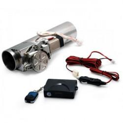 Elektronická výfuková klapka s diaľkovým ovládačom