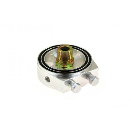 Adaptéry na montáž senzorov Adaptér pod olejový filter na pripojenie snímačov RACES silver | race-shop.sk