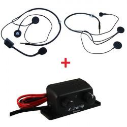 Sada centrály interkomu Terratrip Clubman + 2x headset