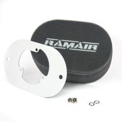 Dvojitý športový penový filter Ramair na karburátory Pierburg 2E2/2E3/2E-E