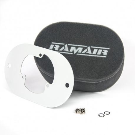 Filtre pre karburátory Dvojitý športový penový filter Ramair na karburátory Pierburg 2E2/2E3/2E-E   race-shop.sk