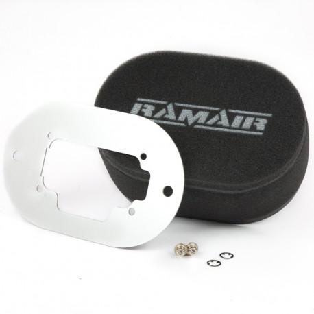 Filtre pre karburátory Dvojitý športový penový filter Ramair na karburátory Weber 32/36 DGV | race-shop.sk