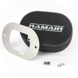 Dvojitý športový penový filter Ramair na karburátory Pierburg 2B2/2B4/2B5