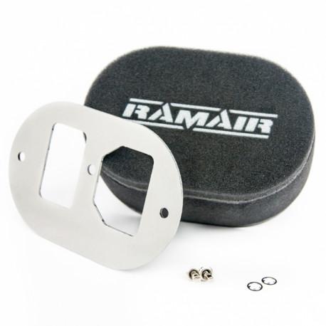Filtre pre karburátory Dvojitý športový penový filter Ramair na karburátory GM Varajet II   race-shop.sk