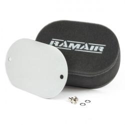 Univerzálny dvojitý športový penový filter Ramair na karburátory bez výrezu