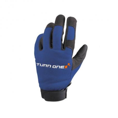 Ochranné rukavice - mechanik Rukavice Turn one Mecano modré | race-shop.sk
