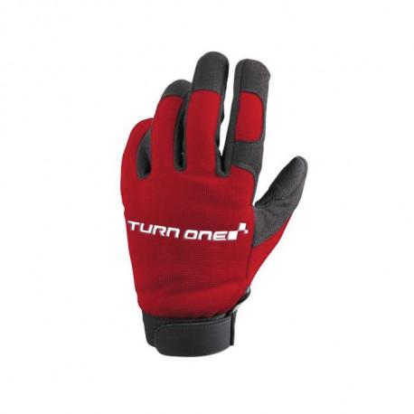 Ochranné rukavice - mechanik Rukavice Turn one Mecano červené   race-shop.sk