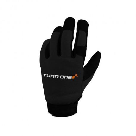 Ochranné rukavice - mechanik Rukavice Turn one Mecano čierne | race-shop.sk